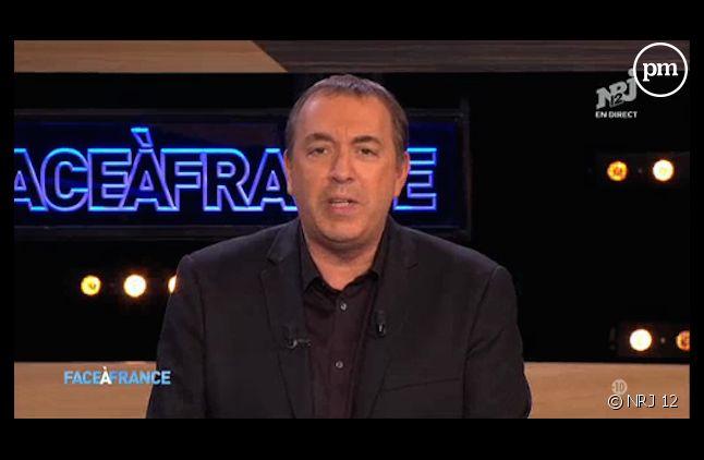 """""""Face à France"""" avec Jean-Marc Morandini s'arrête sur NRJ 12"""