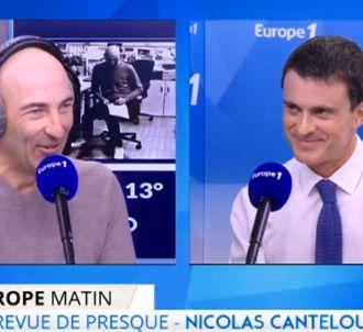 Nicolas Canteloup face à Manuel Valls
