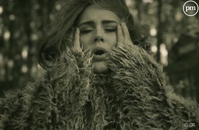 "Adele dans le clip de ""Hello''"