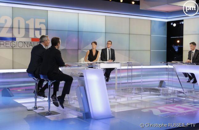 """Quelle audience pour la soirée """"Régionales 2015"""" de France 3 ?"""