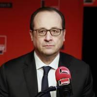 François Hollande invité de France Inter demain soir