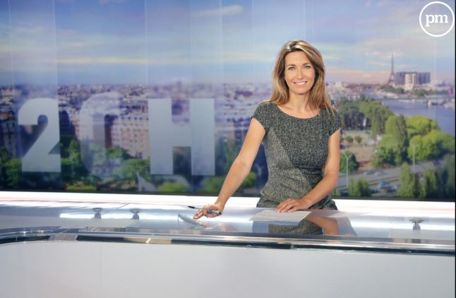 Anne-Claire Coudray sur TF1