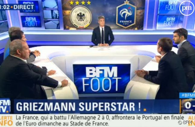 BFM Foot après Allemagne-France