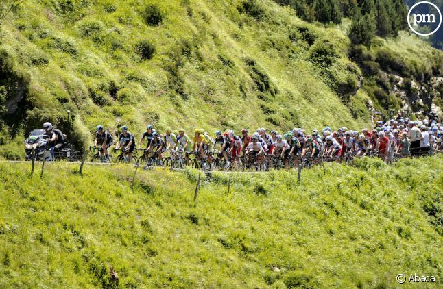 """Le Tour passait hier à <span class=""""st"""">Bagnères-de-Luchon</span>"""