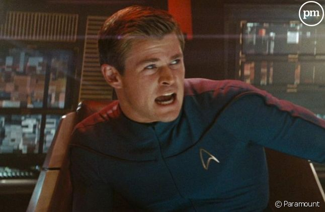 "Chris Hemsworth dans ""Star Trek"" en 2009"