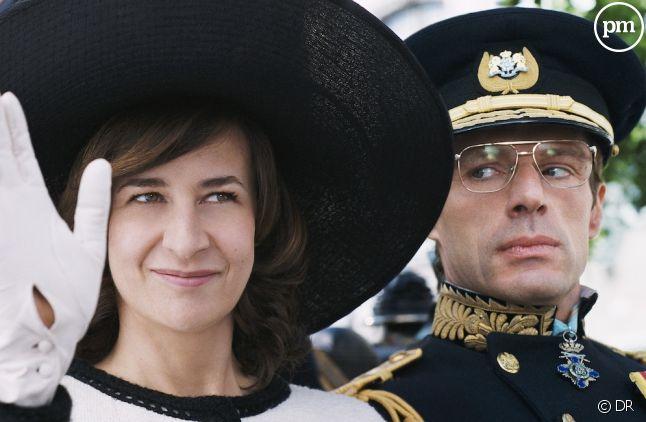 """Valérie Lemercier et Lambert Wilson dans """"Palais Royal !"""""""