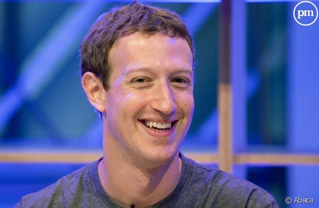 <span>Mark Zuckerberg, le fondateur de Facebook </span>