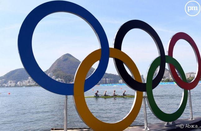 Anneaux olympiques à Rio de Janeiro
