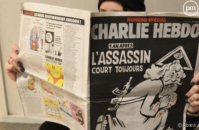 """""""Charlie Hebdo"""" cible de menaces"""