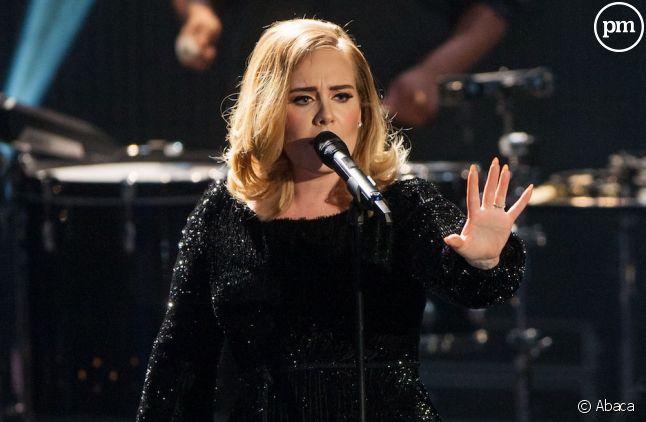 Adele en concert