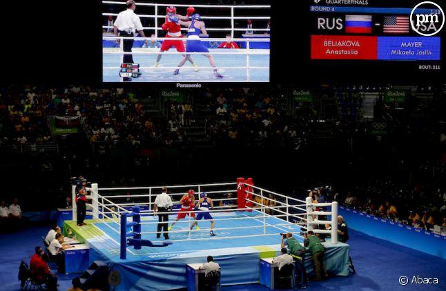 La boxe a commencé aux Jeux Olympiques