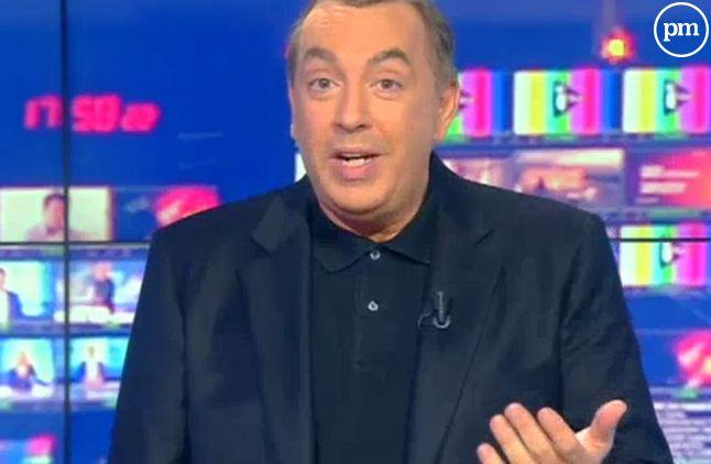 """Clap de fin temporaire pour """"Morandini Live"""" sur iTELE."""