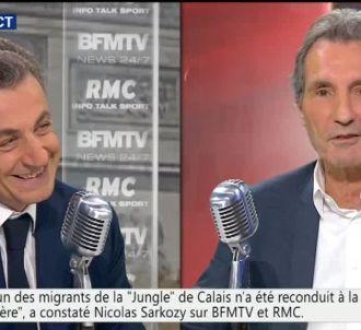 Nicolas Sarkozy a enfin accepté de venir au micro de...