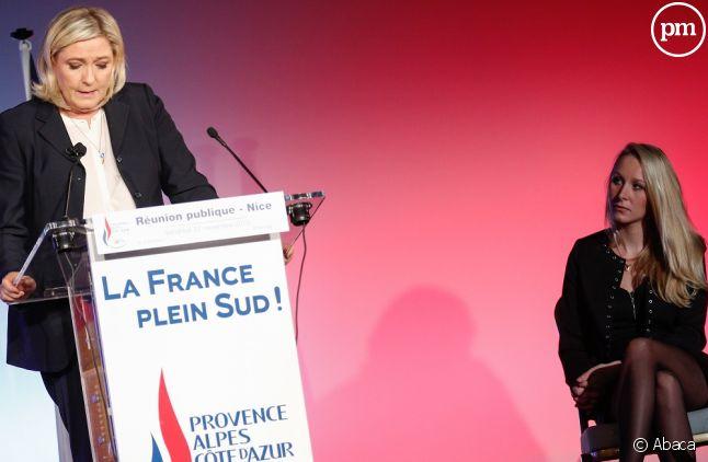 """Marine Le Pen empêche Marion Maréchal-Le Pen de participer à """"L'Emission Politique""""."""