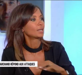 Karine Le Marchand dans 'C l'hebdo'