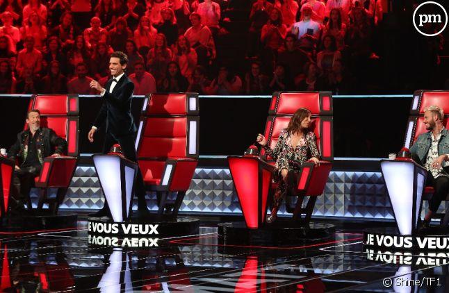 """Le plateau de """"The Voice"""" saison 6"""