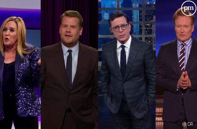 Les late shows américains évoquent l'élection de Trump