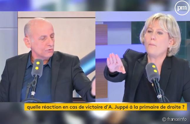 Vif échange entre Jean-Michel Aphatie et Nadine Morano.
