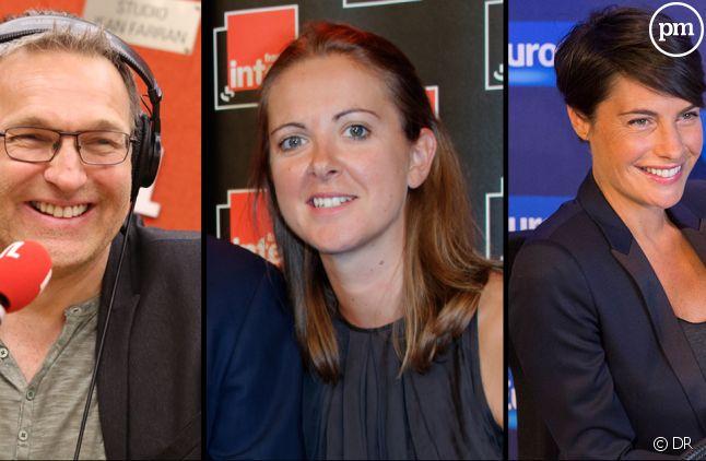 Laurent Ruquier, Charline <span>Vanhoenacker et Alessandra Sublet.</span>