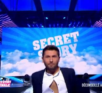 Christophe Beaugrand chute sur le plateau de 'Secret Story'