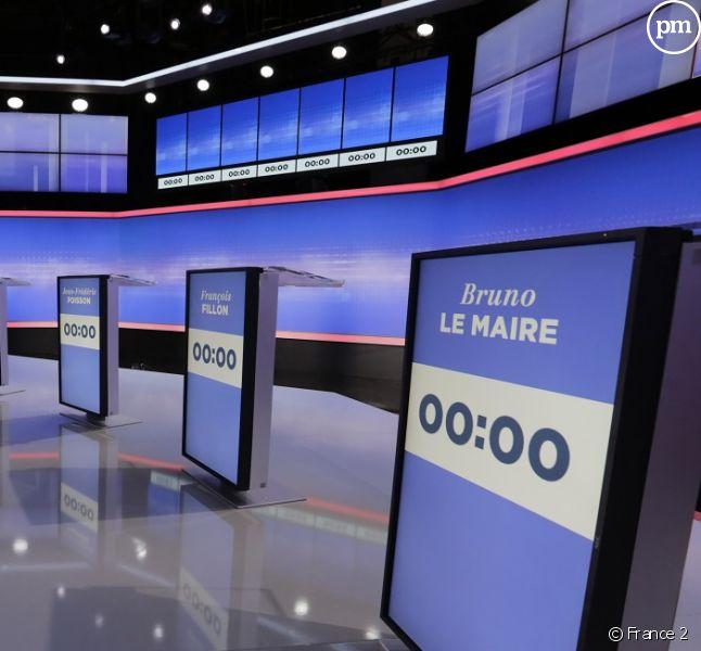 Le troisième débat de la primaire de la droite et du centre sur France 2 et Europe 1.