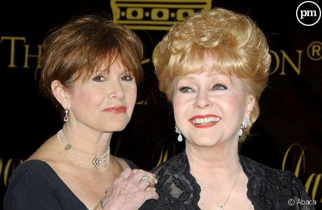 Carrie Fisher et sa mère, Debbie Reynolds