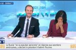 Fou rire d'Aurélie Casse sur BFMTV avant de lancer la météo