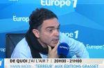 """Yann Moix avoue s'être """"trompé"""" sur Nekfeu"""