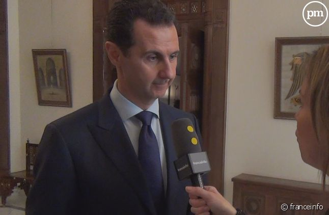 Bachar el-Assad interviewée par Alice Serrano