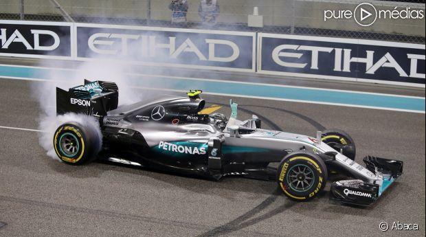 Nico Rosberg, le 28 novembre 2016.