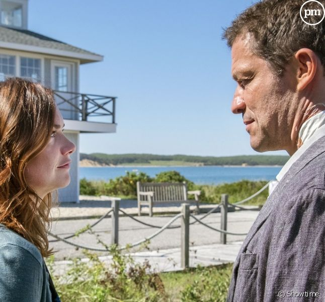 "Ruth Wilson et Dominic West (""The Affair"")"