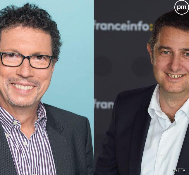 Germain Dagognet et Laurent Guimier