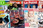 """Audiences presse et numérique : Les newsmags en grande forme, """"Paris Match"""" et """"Télé Loisirs"""" en hausse"""