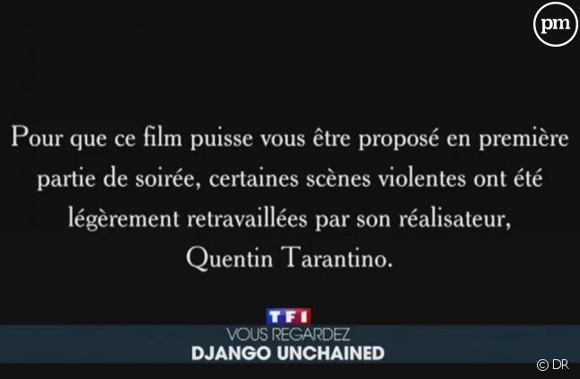 """""""Django Unchained"""" : Pourquoi TF1 a-t-elle diffusée une version censurée ?"""