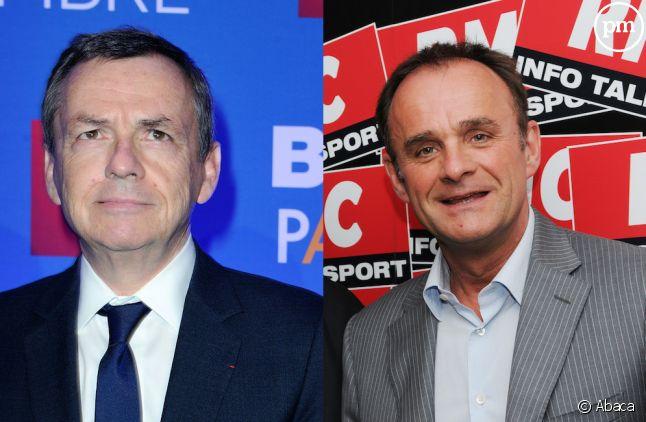 Alain Weill et Franck Lanoux