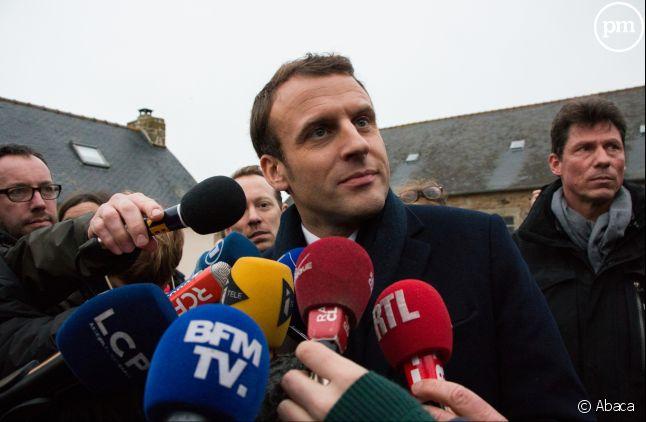 Emmanuel Macron, un candidat médiatique.