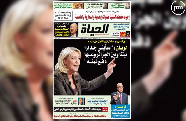 """""""El Hayat"""" piégé par """"Le Gorafi""""."""