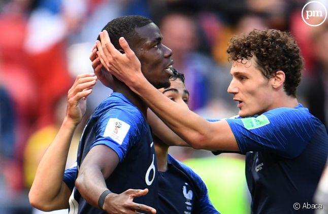 Paul Pogba a marqué le but de la victoire dans le match France/Australie.