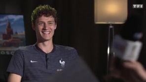 Coupe du monde : Le fou rire interminable d'un joueur de l'équipe de France sur TF1