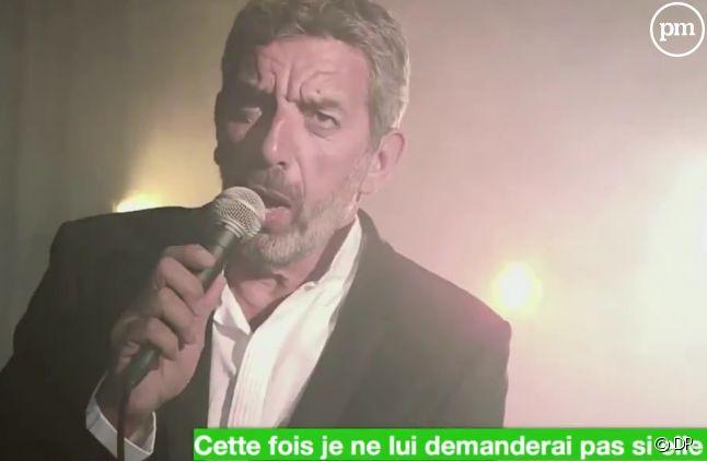 Michel Cymes en mode chanteur sur France 5