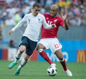 Antoine Griezmann, joueur de l'équipe de France de...