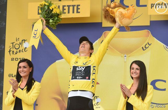 Geraint Thomas vainqueur du Tour de France 2018