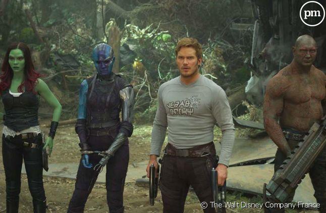 Les Gardiens de la Galaxie s'unissent pour le réalisateur James Gunn