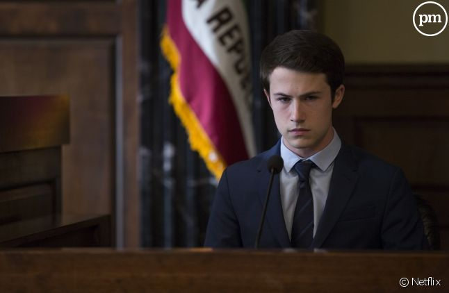 "Dylan Minnette dans ""13 Reasons Why"""