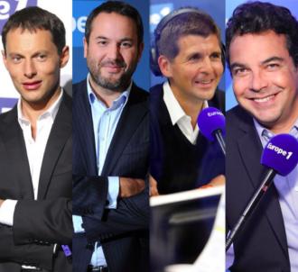 Marc-Olivier Fogiel, Bruce Toussaint, Thomas Sotto et...