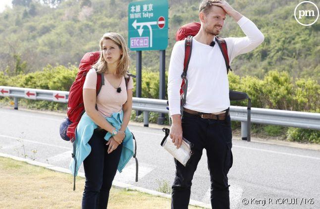 """Christina et Didier dans """"Pékin Express"""""""