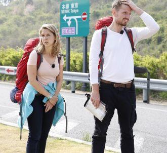 Christina et Didier dans 'Pékin Express'