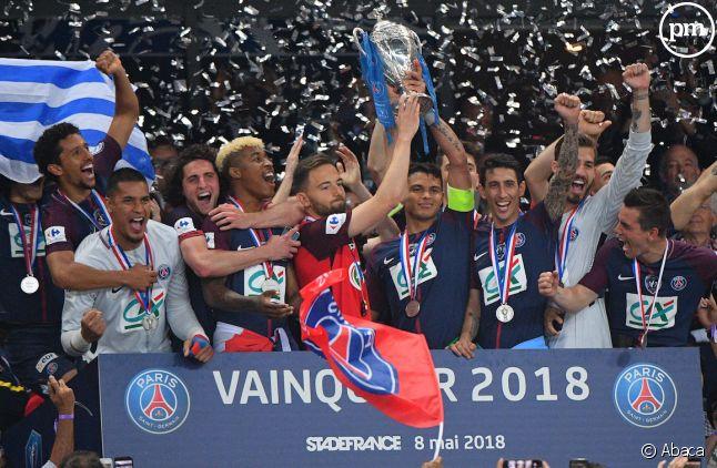 Le PSG a remporté la dernière Coupe de France.