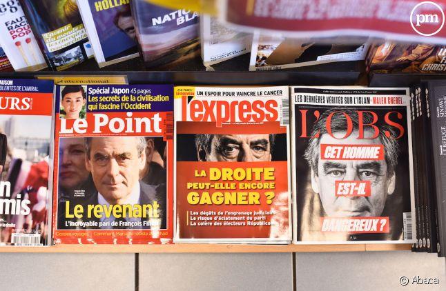 """""""L'Express"""" en tête des newsmags."""