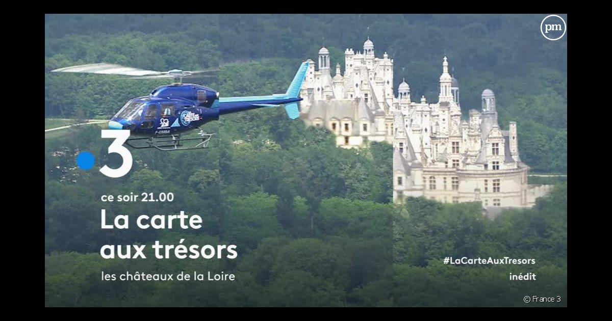 La Carte Au Tresor Quel Jour.La Carte Aux Tresors Avec Cyril Feraud Revient Ce Soir Sur France 3